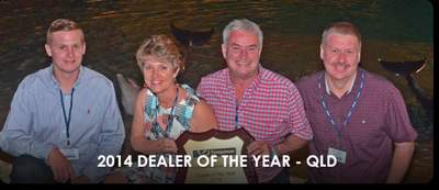 Dealer of the Year 2014 QLD