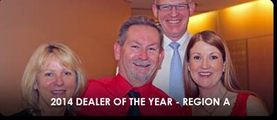 Dealer of the Year 2014 Region A