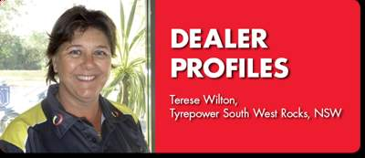 DEALER PROFILE: Terese Wilton, Tyrepower South West Rocks, NSW