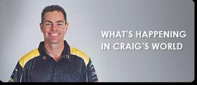 WHATS HAPPENING IN CRAIGS WORLD - SEPTEMBER 2015