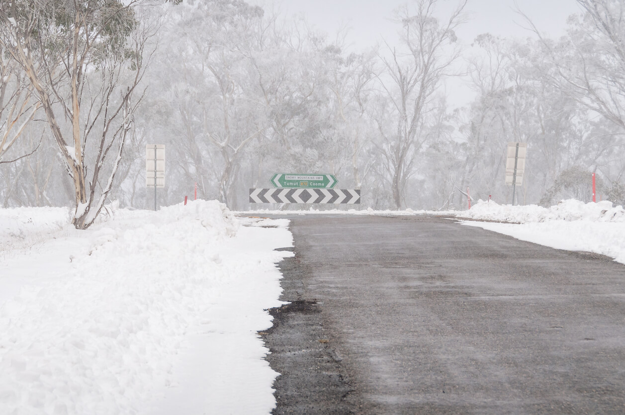 Black ice and other dangers lie on the roads in winter.