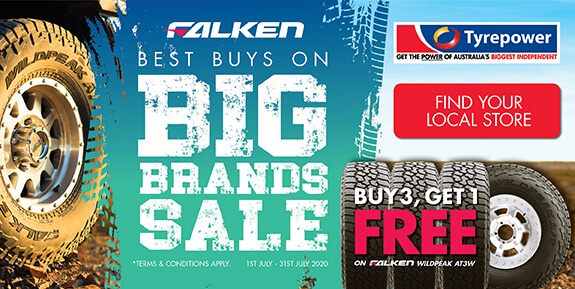 Big Brands Sale - Falken Tyres - July 2020