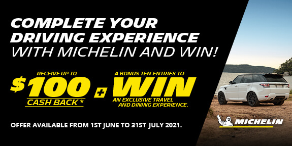 Receive up to $100 cashback + a bonus ten entries to win an exclusive travel and dining experience